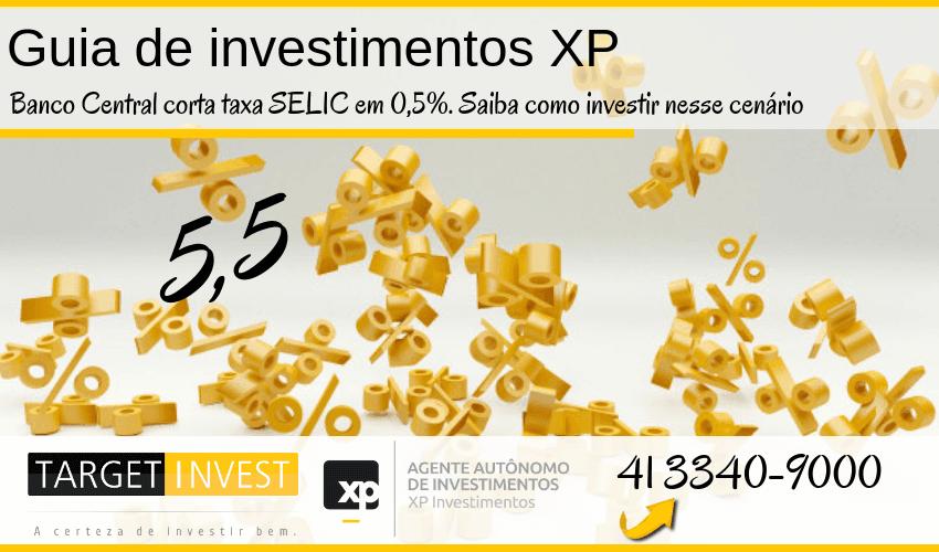 Banco Central corta SELIC em 0,5%