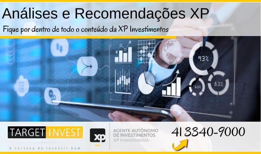 Análises e Recomendações XP Investimentos