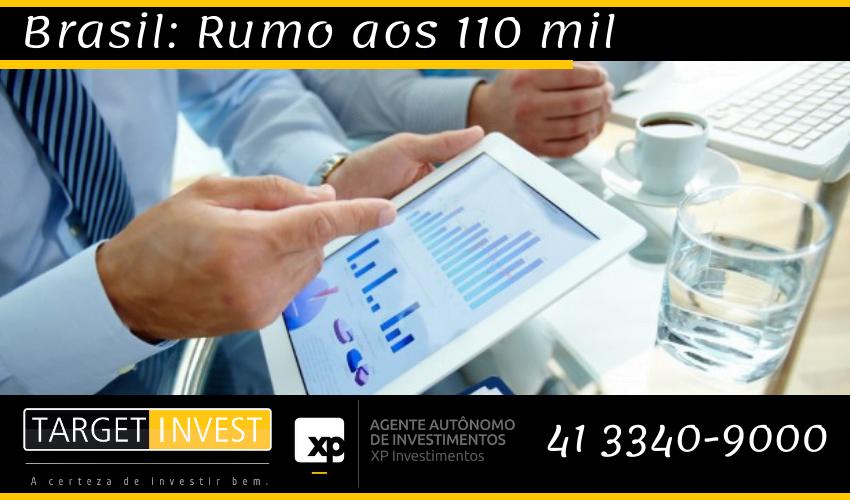 O caso para se comprar Brasil: Rumo aos 110 mil